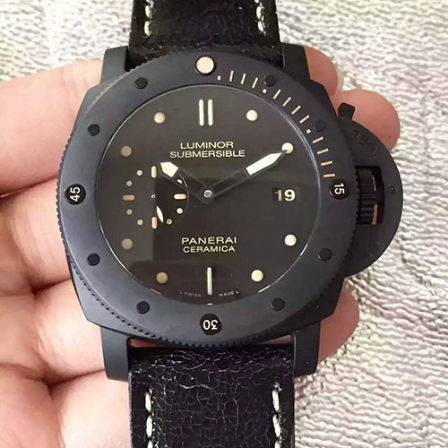 沛納海 Panerai Luminor Submersible系列陶瓷508 搭載P9000機芯